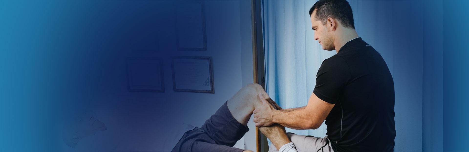 טיפול בכאבי ברכיים - יואב רון פיזיותרפיה